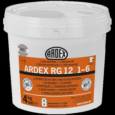 ARDEX RG12 1-6 pískověšedá balení 1 kg