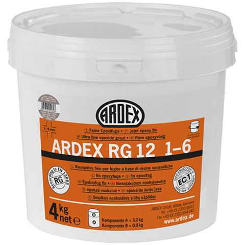 ARDEX RG12 1-6 šedohnědá balení 1 kg