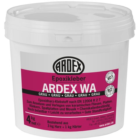 ARDEX WA epoxidové lepidlo šedé