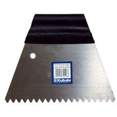 Ozubená stěrka nerez 180 mm zub 3 mm (0517)